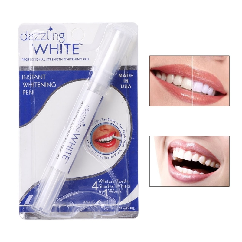 Peroxide Gel Tooth Cleaning Bleaching Kit Dental White Teeth